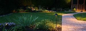 Lighting irrigation denchfield landscaping