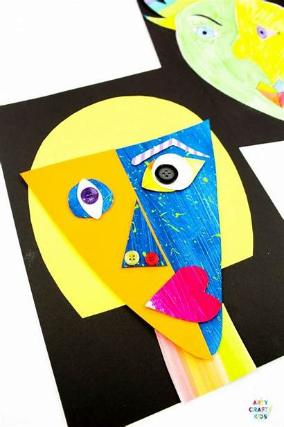 Picasso Faces Easy Pablo Projects Printable Mixed