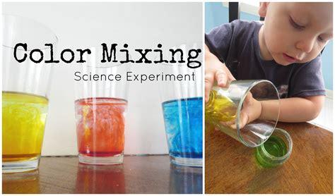 easy science experiments for preschool simple color mixing science experiment for preschoolers 258