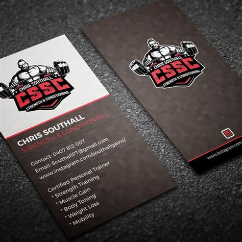 Or check out these collections. Personal Training Business Card (have logo)   Business ...