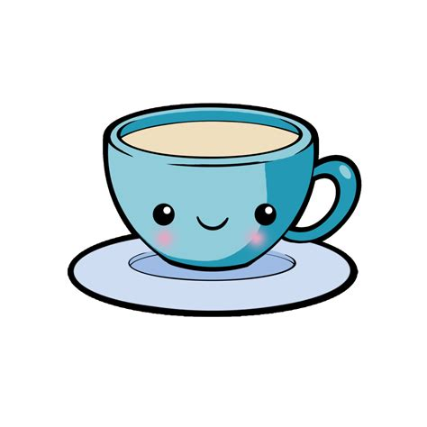 Find & download free graphic resources for coffee mug drawing. Pin by 2 the moon and back on Morning PicsArt Stickers | Kawaii doodles, Cute coffee cups, Kawaii