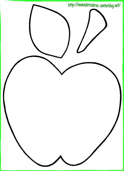 Apple Template Apple Template Apple Crafts Clipart Best Clipart
