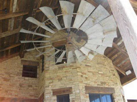 Diy Belt Driven Ceiling Fans by A Revolutionary Windmill Ceiling Fans 15 Amazing