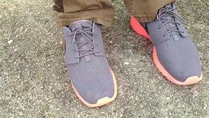 "Nike Roshe Run ""Mango"" V2 on feet - YouTube"