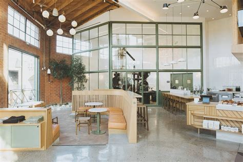 They then roast the coffee beans right in the coffee shop. Roastery Del Sur | Verve Coffee Roasters | Indoor seating, Verve coffee roasters, Verve coffee