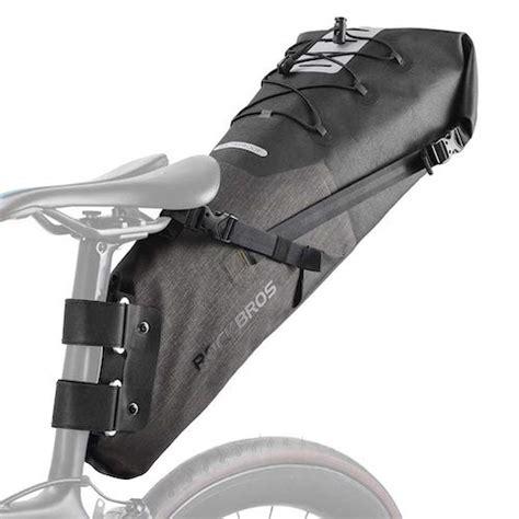 bike saddle bag bikepacking bags cycling road rear seat waterproof capacity pack rock amazon
