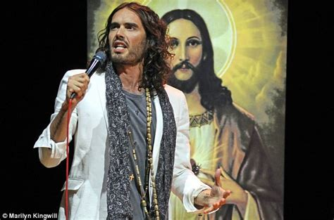 russell brand messiah complex russell brand a revolutionary messiah who does he think