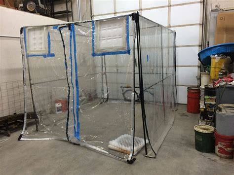 The Homemade Spray Booth Cheap Flooring Rochester Ny Elegance Solid Hardwood Ebonized Oak Laminate Red Uk Options Calculator Can You Lay Wood Onto Concrete Stone Coventry Floor Waxing Tools