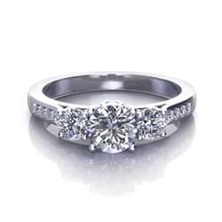 three engagement rings three engagement rings jewelry designs