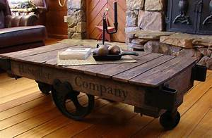 several cool coffee table to serve the best welcoming tone With cool rustic coffee tables