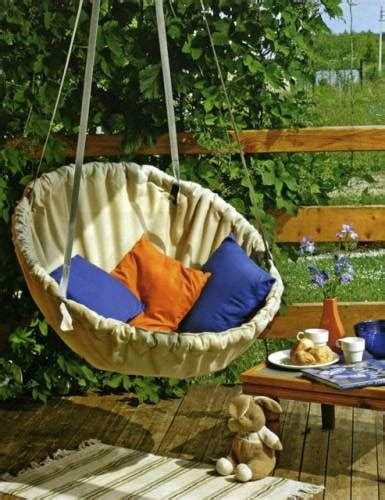creative diy hanging chairs projects