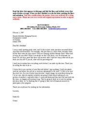 sample letter requesting recommendation promotions