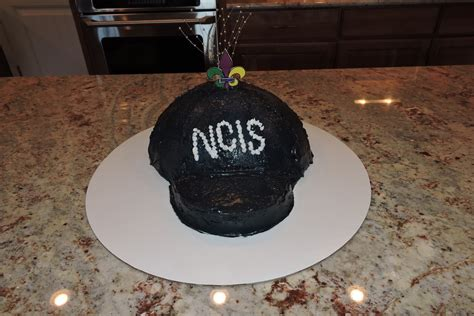 mystery playground ncis  orleans baseball hat cake