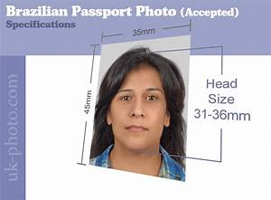 brazilian passport photos available online or at our studio With requirements for passport size photo