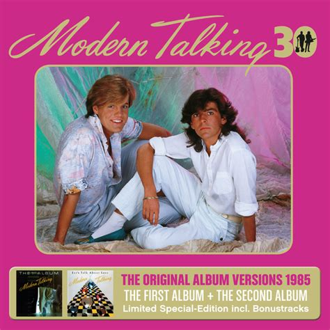 the second album 30th anniversary edition by modern talking on spotify