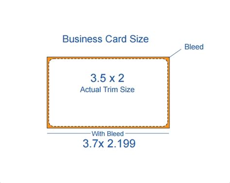 business card size template pdf free 9 sle business card templates in pdf doc