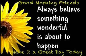 Good Morning Qu... Friendship Day Good Quotes