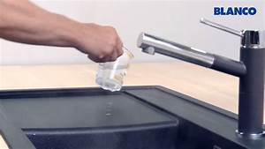 Reinigung und pflege einer blanco spule aus silgranit for Silgranit spüle