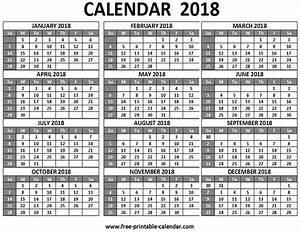 12 month planner template - free printable 2018 calendars download free 2018 calendar