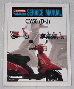 1992 1997 Yamaha Jog Scooter Cy50 Dealer Shop Service