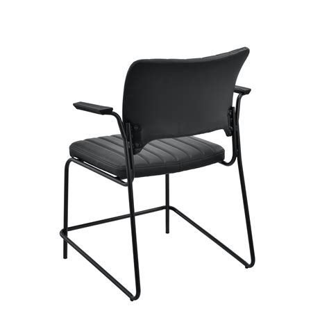 conference meeting room chair set of 2 black office