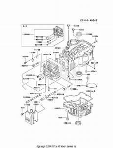 Kawasaki Fc420v Crankcase