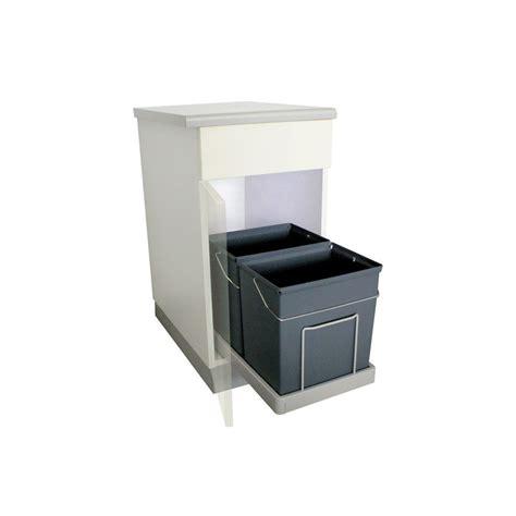poubelle cuisine ouverture automatique poubelle cuisine encastrable coulissante awesome poubelle