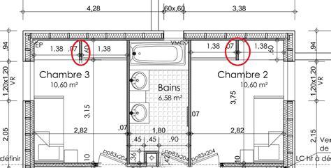 surface minimum pour une chambre dessiner des plans fonctionnels conseils thermiques