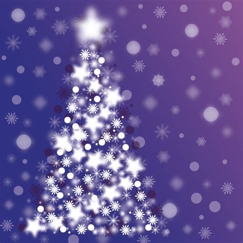 sparkle christmas tree vector vector free download