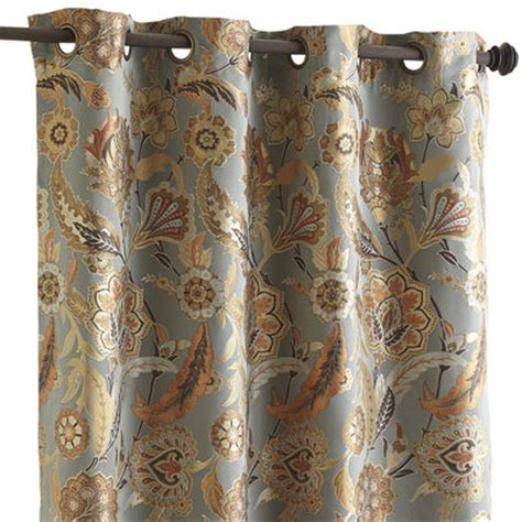 pier one curtains pearson floral curtain 96 quot