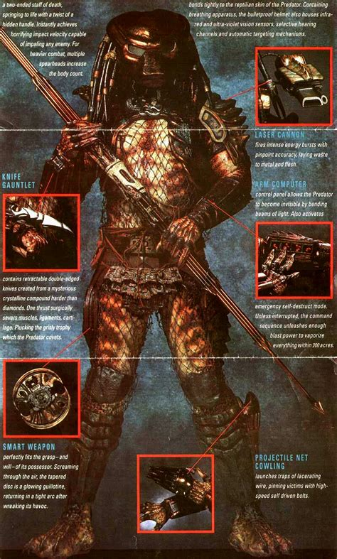 Predator 2 Weapons  Dravens Tales From The Crypt