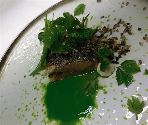 cuisine sauvage recettes truite pesto d 39 égopode et crumble d 39 anchois cuisine