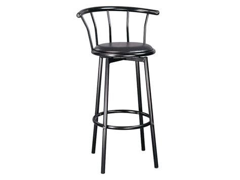 tabouret de bar pivotant tabouret de bar pivotant brice coloris noir vente de chaise de jardin conforama