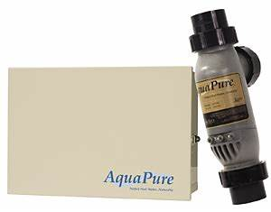 Aquapure Salt Chlorine Generator With Plc1400 Cell Kit 40k