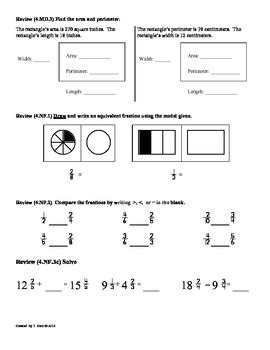 (4oa3) Multistep Word Problems4th Grade Common Core Worksheets