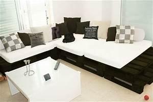 Couch Aus Paletten : sofa aus paletten eine perfekte vollendung des interieurs ~ Whattoseeinmadrid.com Haus und Dekorationen