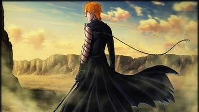 Bleach Ichigo Anime Kurosaki Hair Orange Desert