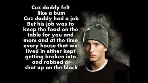 Mockingbird Eminem Quotes