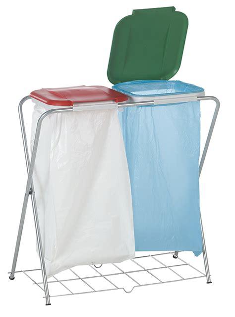 support sac poubelle poubelle manutention