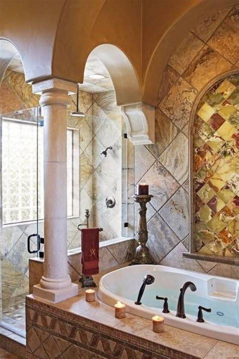 Warm Tuscany Bathrooms Designs : Bathrooms in Bathroom