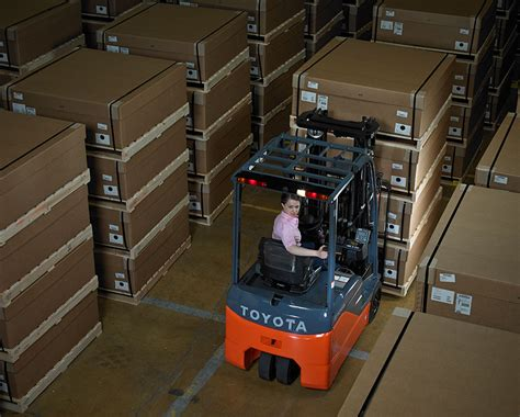 electric powered forklift benefits   warehouse