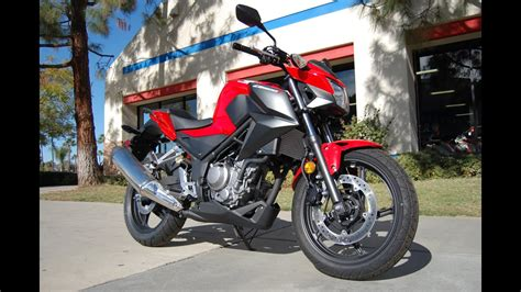 2017 Cb300f Overview