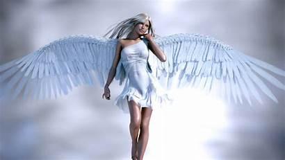 Angel Screensavers Angels Desktop 3d Wings Flying