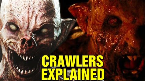 what are the creatures in the descent crawlers explained