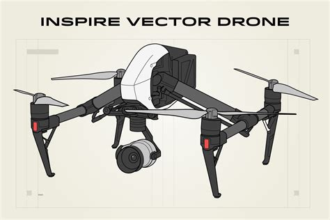 inspire vector drone illustration graphic objects