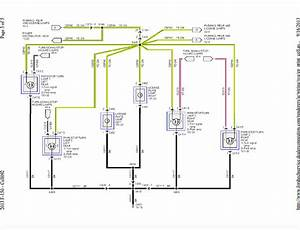 1986 Mustang Headlight Wiring Diagram