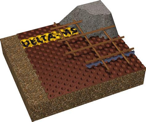 tapis drainant sous dallage drainage sous dallage solutions delta d 246 rken