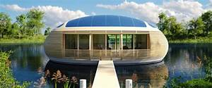 Haus Auf Dem Wasser : wohnen auf dem wasser dieses haus ist zu fast 100 prozent recycelbar ~ Markanthonyermac.com Haus und Dekorationen
