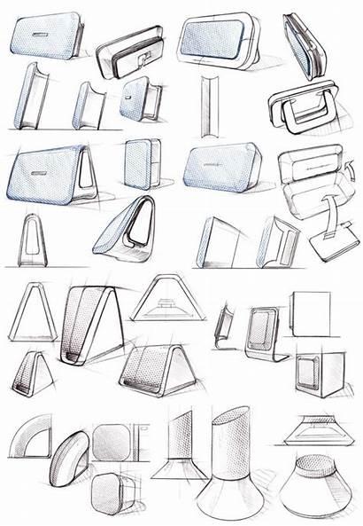 Sketch Sketches Sketching Phone Industrial Docking Speaker