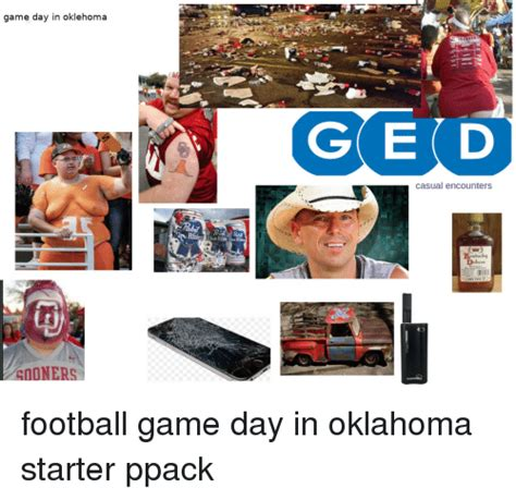 Game Day Meme - game day in oklehoma ged casual encounters ky deluve